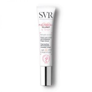 Crema Colorata Anti-Cearcane, Anti-Iritatii Conturul Ochilor, SVR Topialyse Palpebral CC Light SPF 20, 7G