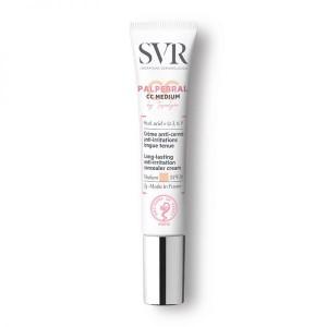 Crema Colorata Anti-Cearcane, Anti-Iritatii Conturul Ochilor, SVR Topialyse Palpebral CC Medium SPF 20, 7G