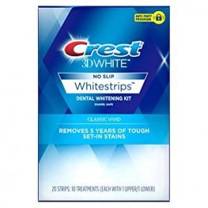 Benzi pentru Albirea Dintilor Acasa - Crest Whitestrips 3D Vivid