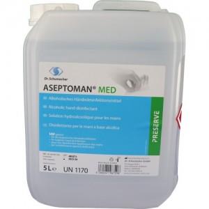 Dezinfectant de Maini Igienic si Chirurgical - Aseptoman Med 10L