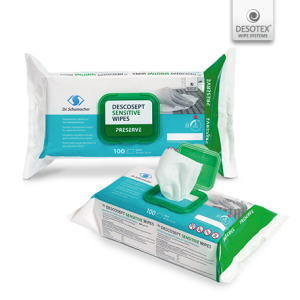 Dezinfectant Suprafete-Servetele Impregnate cu Solutie Alcoolica-Descosept Sensitive Wipes