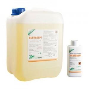 Dezinfectant Instrumentar si Endoscoape - Sterilizare Chimica la Rece(Glutaraldehida 2%) - Glutasept 5L + Activator 200ml