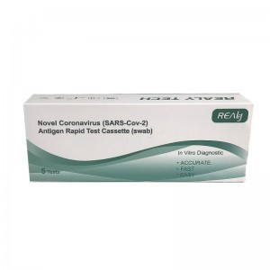 Test Rapid COVID-19 Antigen Realy Tech nazofaringian (set 5 buc)